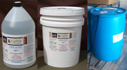 1 Gallon Bottle, 5 Gallon Pail & 55 Gallon Drum of Fire Kote 100