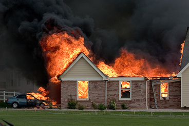 A Burning House